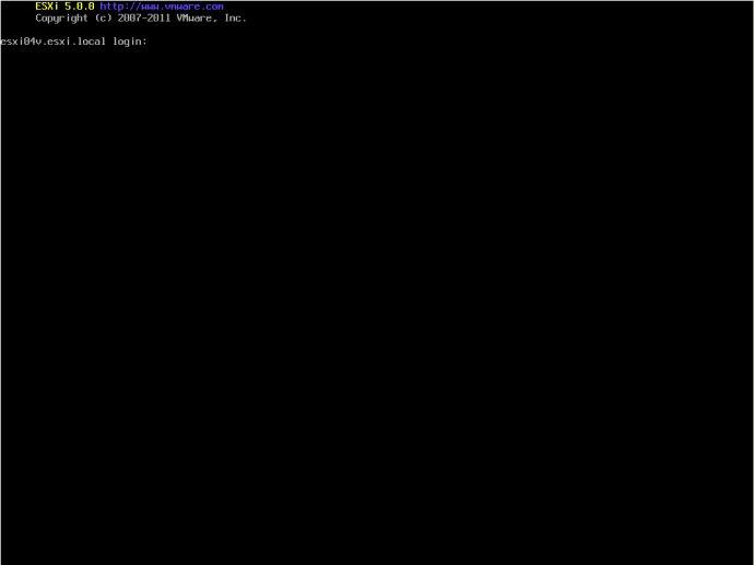 VMWare<wbr>Esxi<wbr>重启服务解决无法远程管理问题