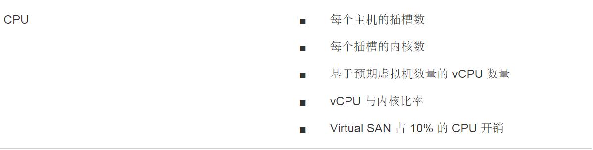 Virtual SAN 存储设计规划