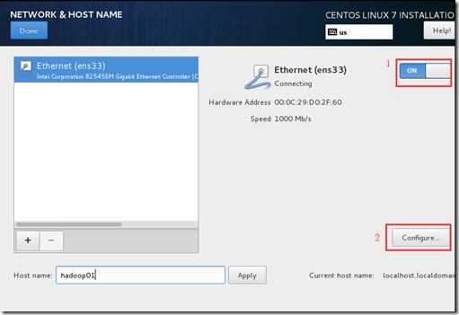 VMware 安装 Centos7