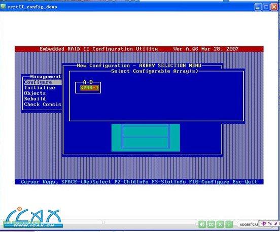 Intel S5000VSA(SAS)主板设置RAID 步骤 - ˉU∧Uˉ - 电脑爱好者